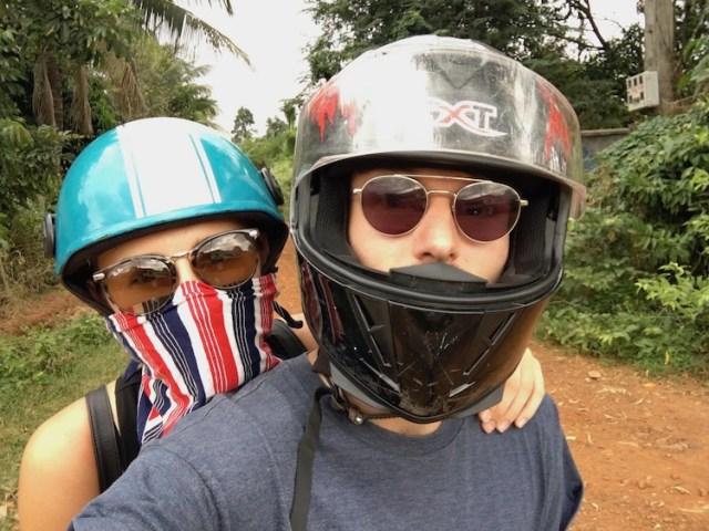 Two Souls One Path on a bike
