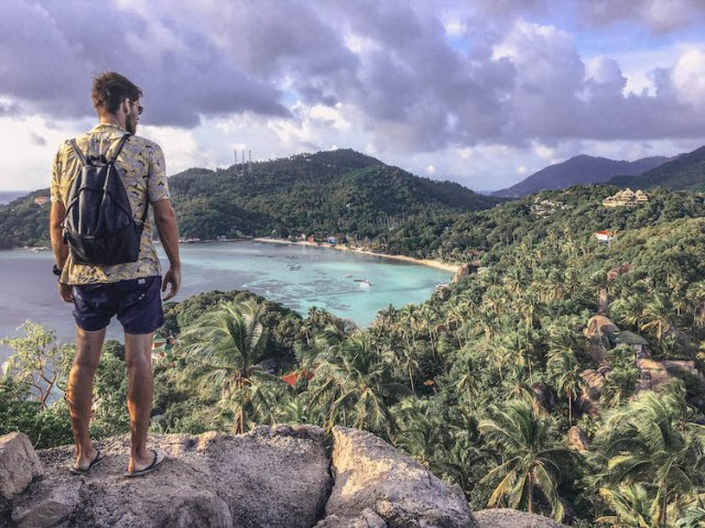 Koh Tao viewpoint - island hopping in Thailand