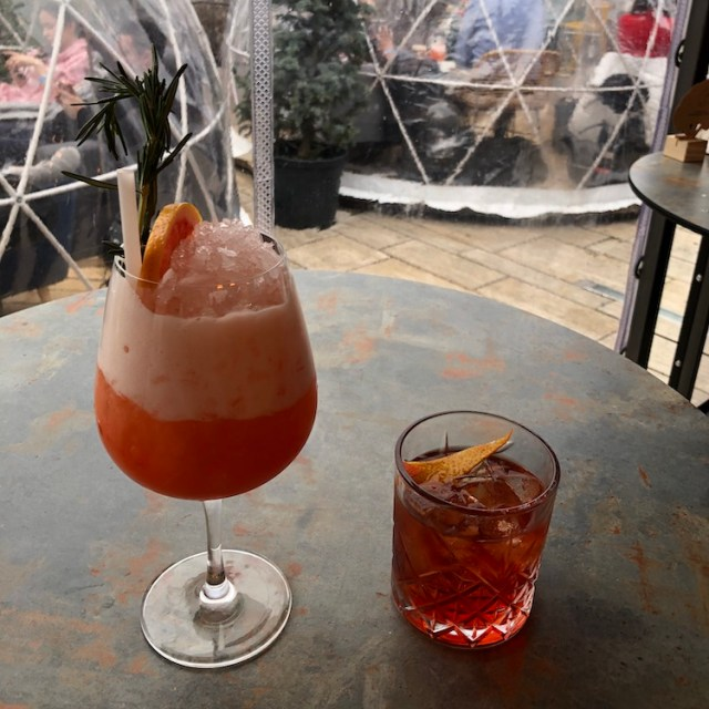 Cocktails at 360 Bar