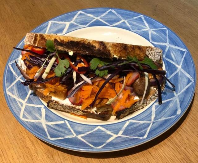 Banh Mi sandwich, Veganuary Round Up, Two Souls One Path