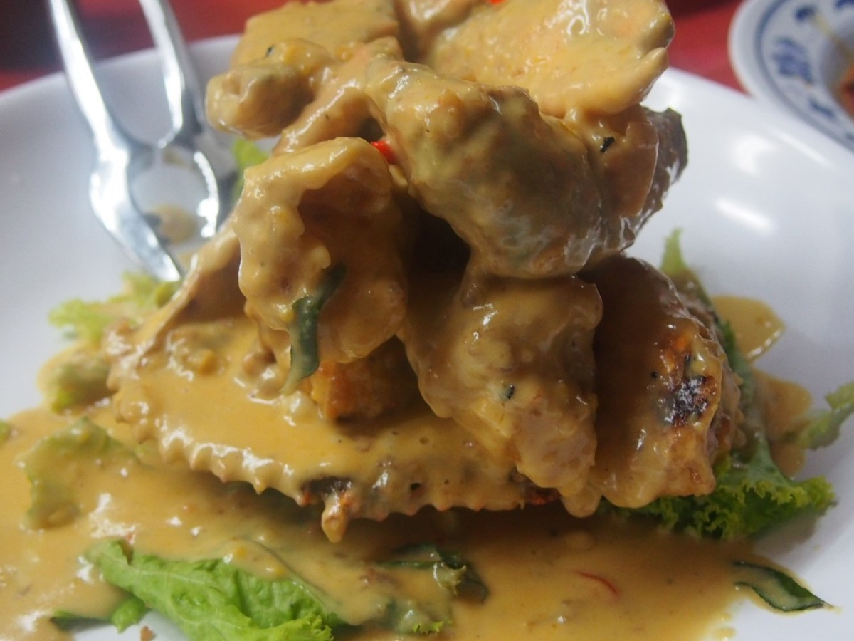 Keng Eng Kee Salted Egg Yolk Crab KEK Best Crab