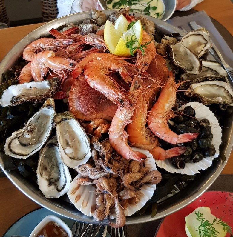 seafood platter, le crotoy, bellevue seafood, best seafood somme