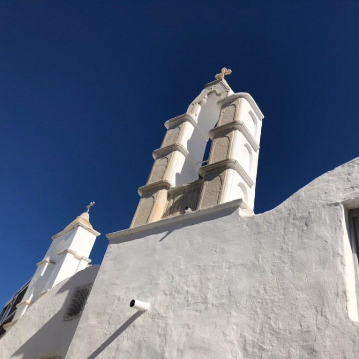 mykonos blue sky, mykonos beauty