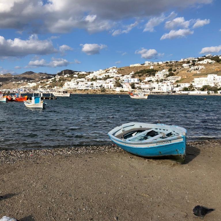Mykonos port, mykonos harbour, mykonos seaside