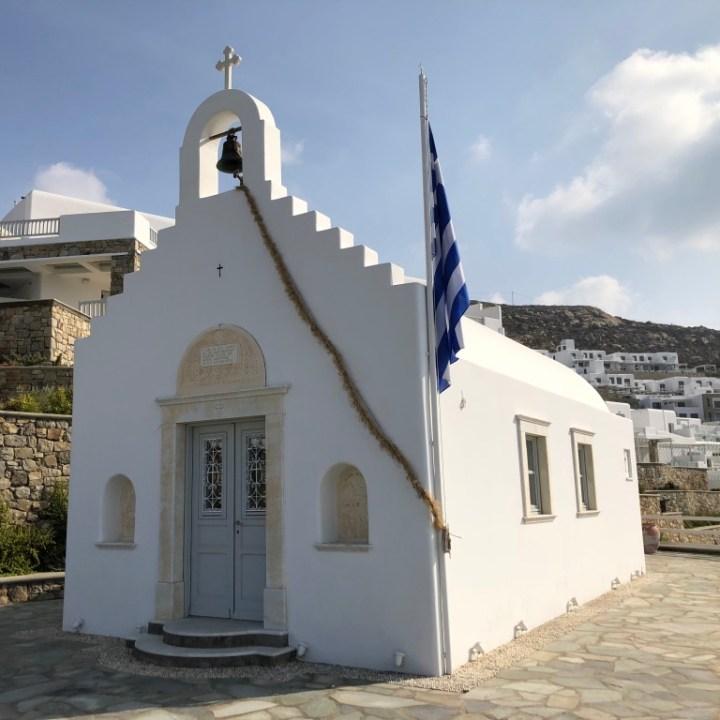 greek chapel, myconian imperial