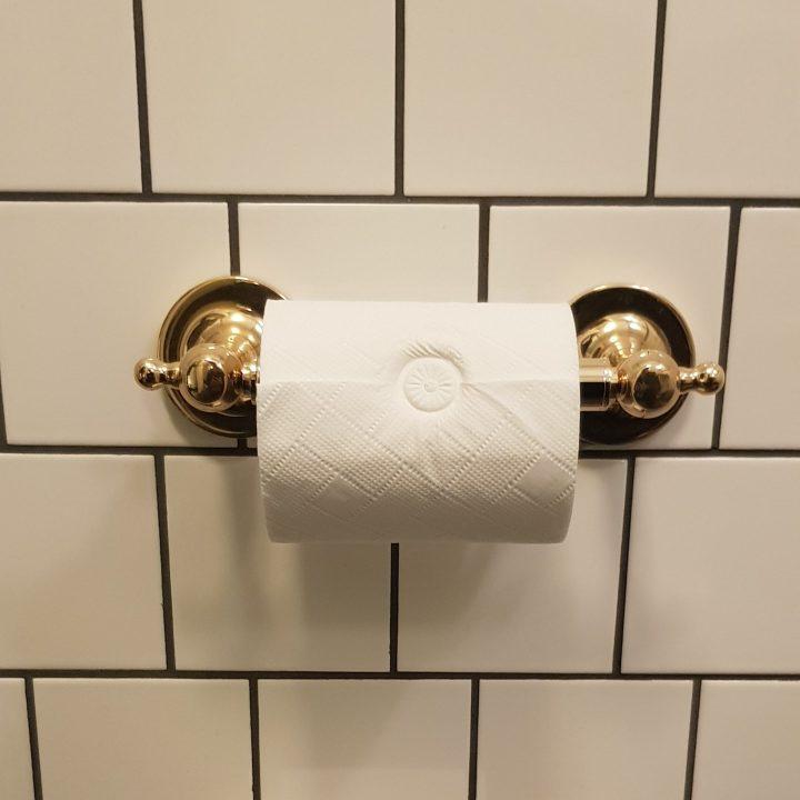 Luxury University Arms Hotel Cambridge Embossed Toilet Roll.