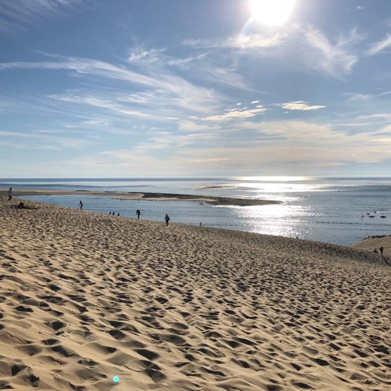 North France Driving Itinerary Travel Tips Dune du Pilat Sand Dune Arcachon Bay