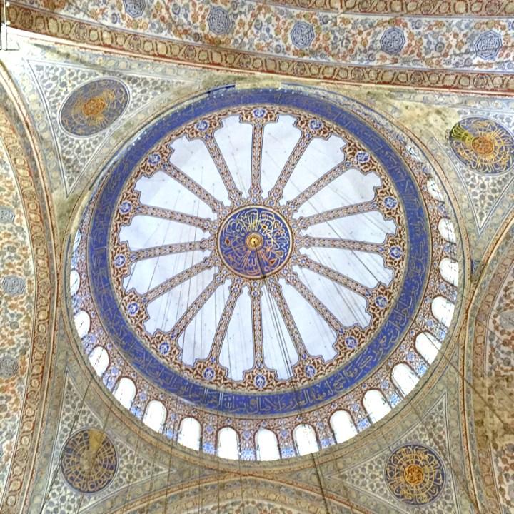 #Istanbul #bluemosque #sultanahmetmosque #bluetiles #tileddome
