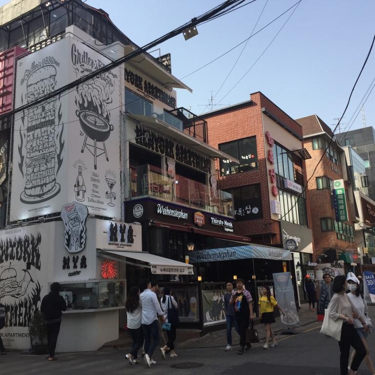 Seoul Itinerary Travel Tips Hongdae Streets