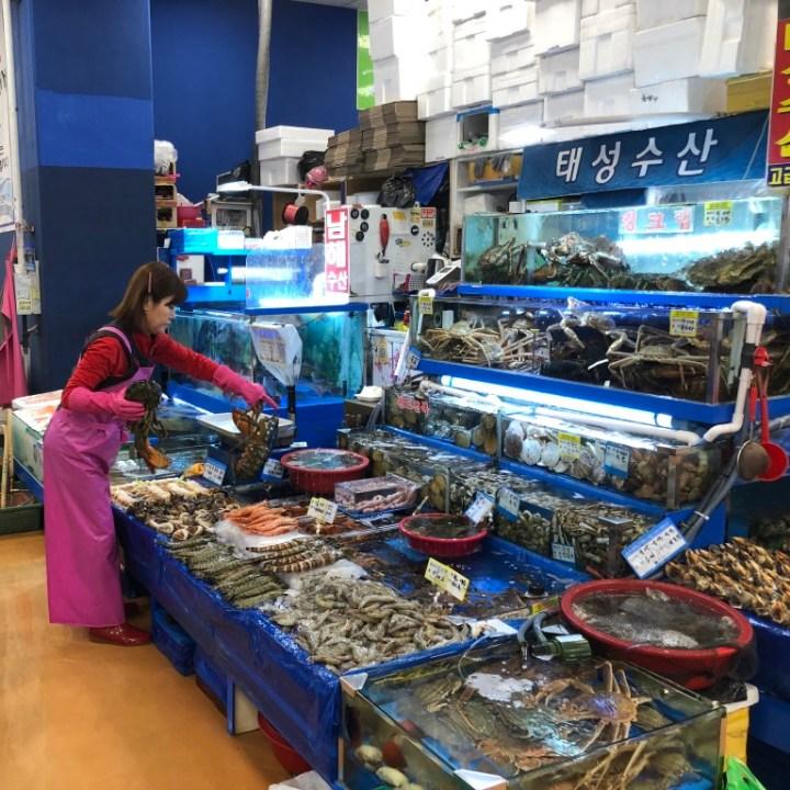 Seoul Itinerary Travel Tips Noryangjin Fish Market