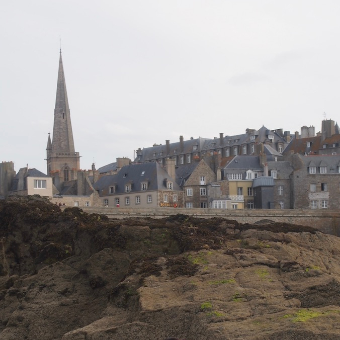 Northern Western France Driving Road Trip Itinerary Travel Tips Saint Malo Old Town