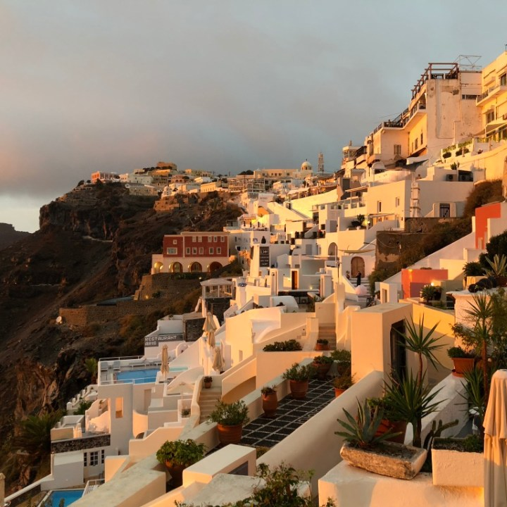 Off Peak Holiday Santorini Itinerary Travel Tips Enigma Sunset