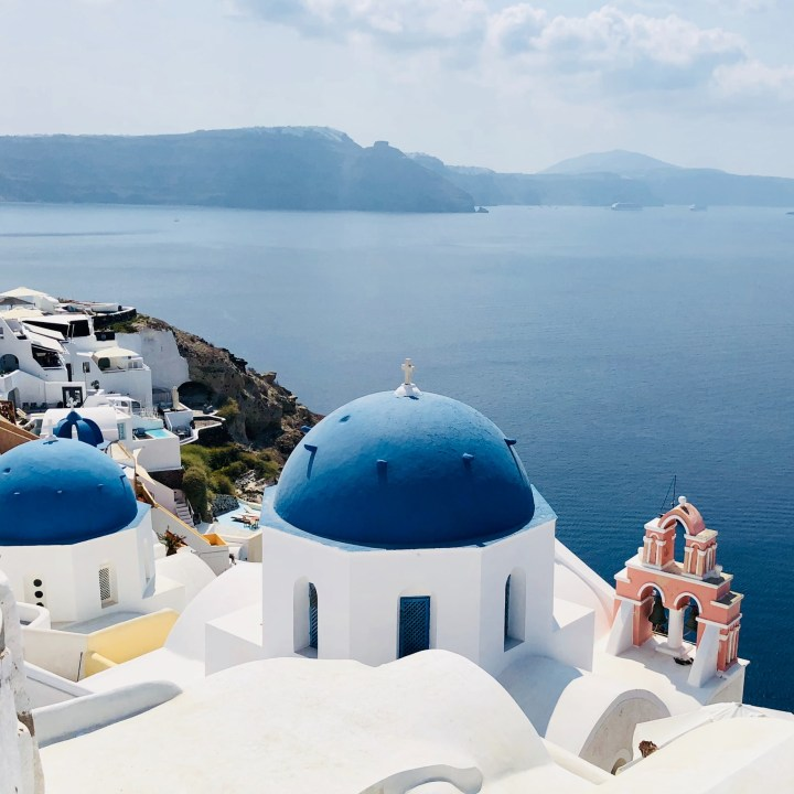 Off Peak Holiday Santorini Itinerary Travel Tips Oia Blue Dome