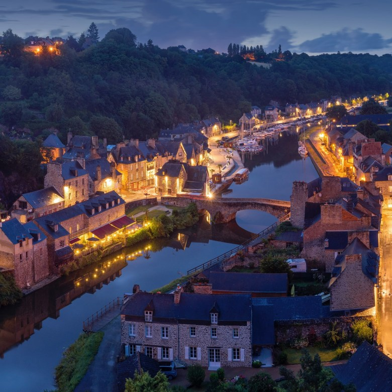 Northern Western France Driving Itinerary Travel Tip Dinan Old Port