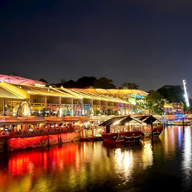 Holiday Singapore Itinerary Travel Tips Clarke Quay Drinks Nightlife
