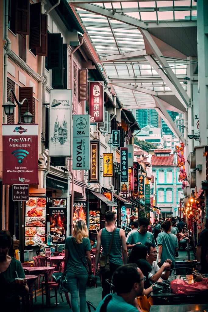 Holiday Singapore Itinerary Travel Tips Chinatown Food Street