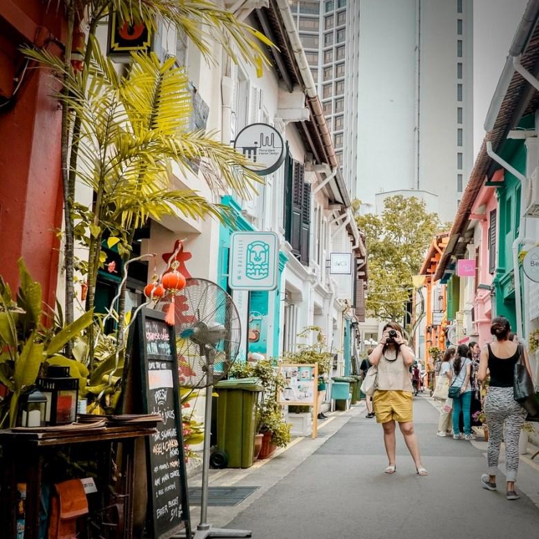 Holiday Singapore Itinerary Travel Tips Haji Lane Kampong Glam Arab Street Boutique Shopping Bars Cafes Hipster