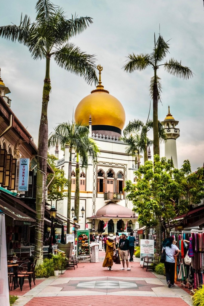 Holiday Singapore Itinerary Travel Tips Haji Lane Arab Street Kampong Glam Sultan Mosque
