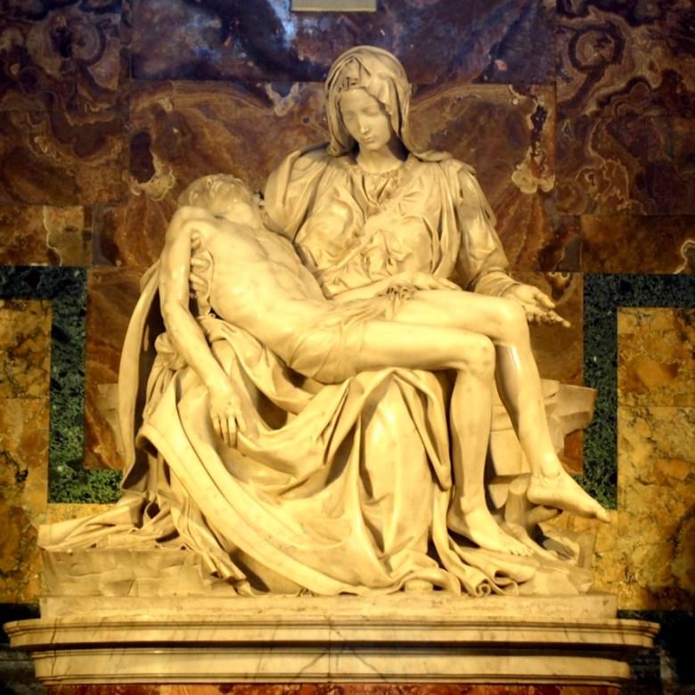 Rome Travel Itinerary Travel Tips Vatican City St Peter's Basilica Michelangelo Pieta
