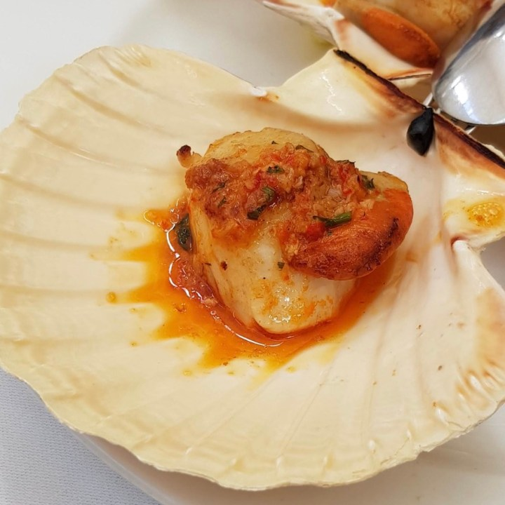 Daphne's Classic Italian Restaurant South Kensington Scallop Chilli Garlic