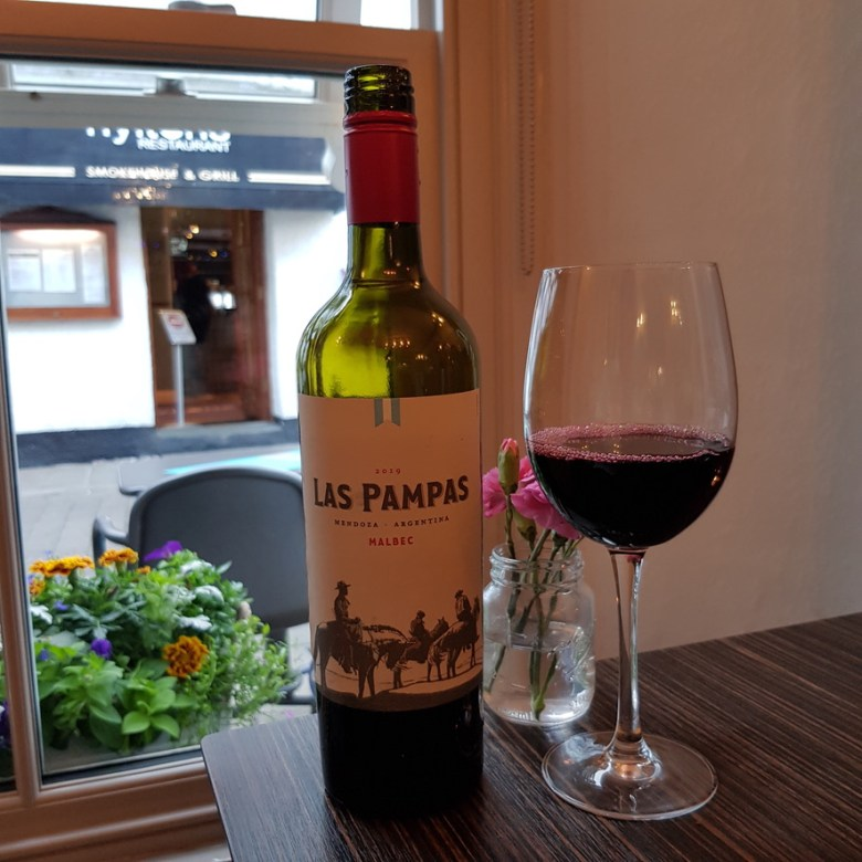 Porto Restaurant Bowness Lake Windermere District Dinner Alfresco Review Red Wine