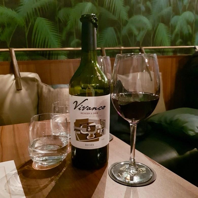 Loxleys Restaurant Wine Bar Stratford Upon Avon Classy Romantic Top Dinner Vivanco Rioja Red Wine