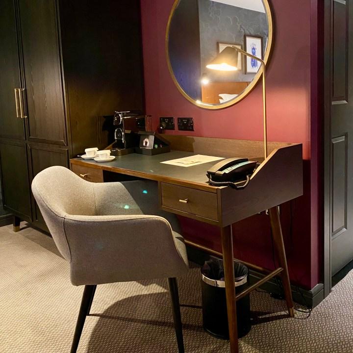 Hotel du Vin Stratford upon Avon Modern Chic Comfort Convenient Central Location Design Deluxe Balcony Room