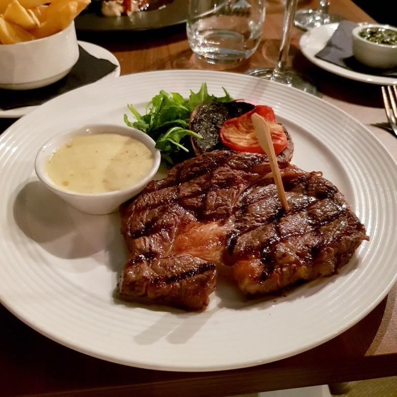 Loxleys Restaurant Wine Bar Stratford Upon Avon Classy Romantic Top Dinner Ribeye Steak