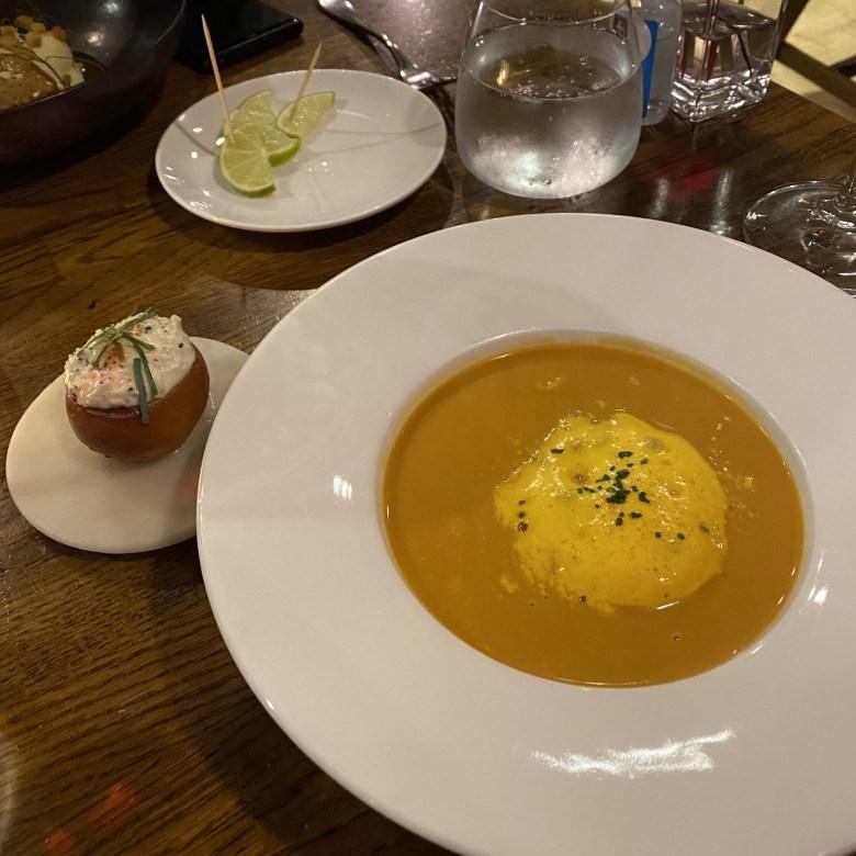 The Cross Kenilworth Michelin Star Restaurant Gastropub British
