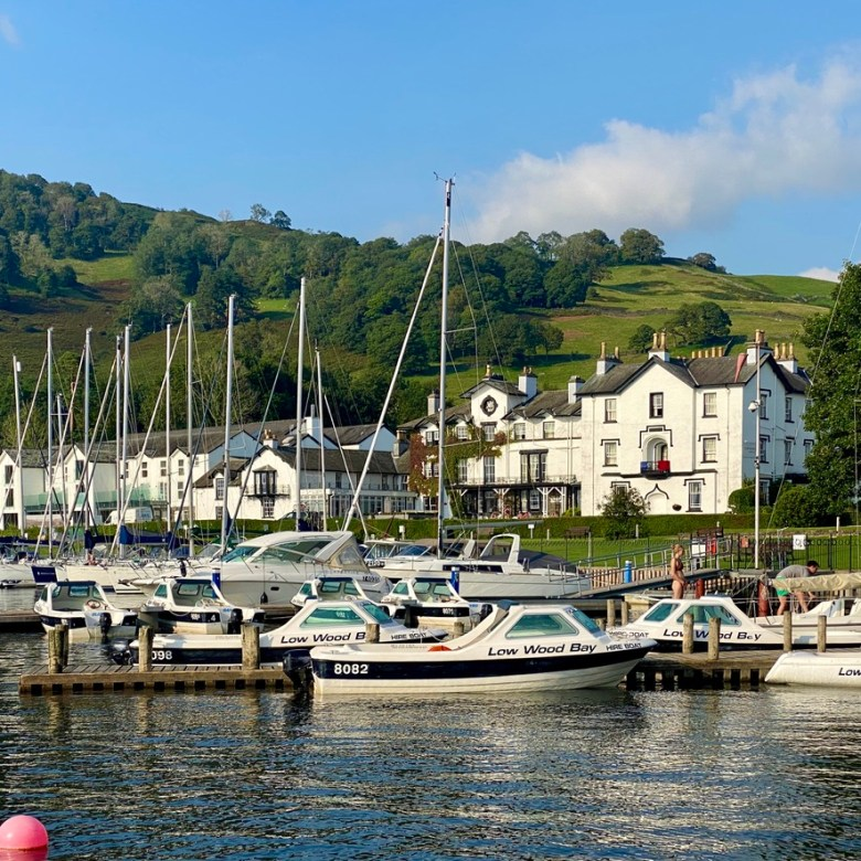 Low Wood Bay Resort Spa Lake Windermere District Luxury Active Holiday Staycation Nature Hiking Family Dog Friendly Jetty Harbour