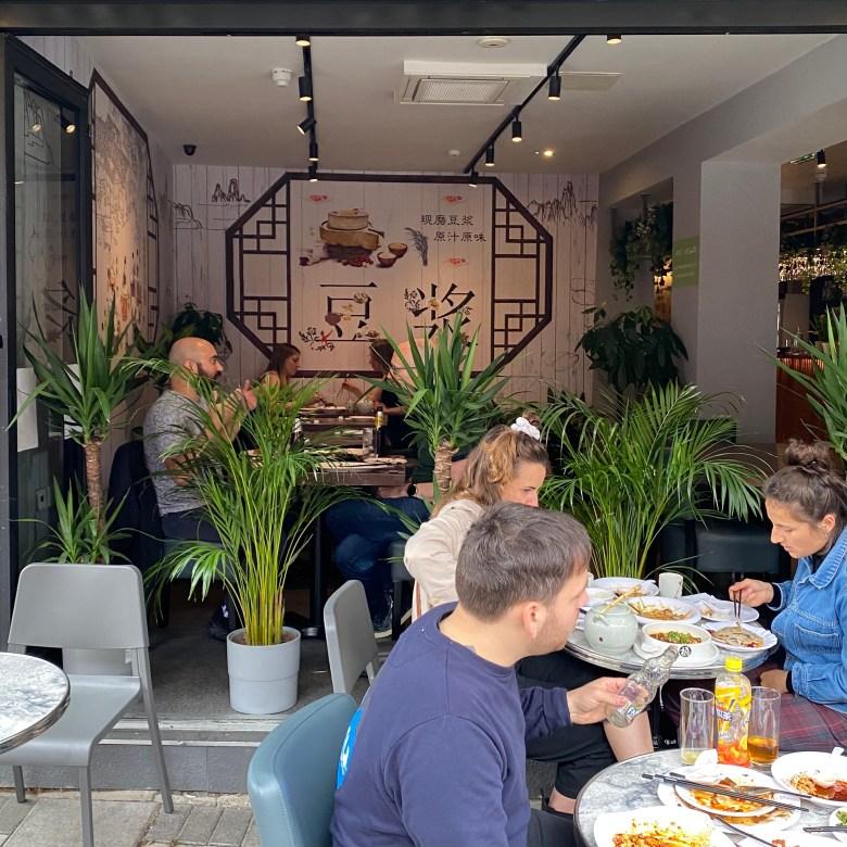 Tofu Vegan Restaurant Chinese Islington London Trendy New Age Vegetarian Plant Based Diet Tasty Delicious Alfresco Outdoor Seating