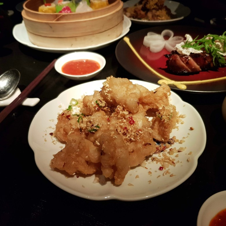 Hakkasan Hanway Place High End Luxury Chinese Cantonese London Funky Hip Trendy Restaurant Michelin Star Traditional Romantic Dining Fun Club Experience Peking duck Cocktail Bar Drinks Great Service Must Go Classy Salt and Pepper Squid