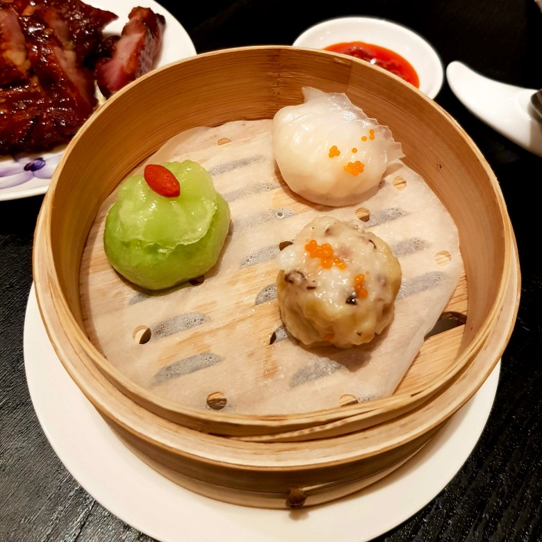 Imperial Treasure London Waterloo Place Chinese Restaurant Michelin High End St James Mayfair Cantonese Expensive Luxury Dining Steamed Dim Sum Trio