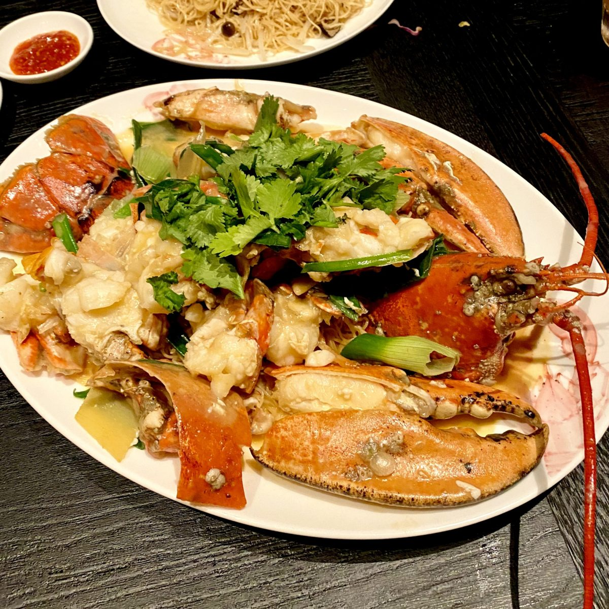 Imperial Treasure London Waterloo Place Chinese Restaurant Michelin High End St James Mayfair Cantonese Expensive Luxury Dining Scottish Blue Lobster Braised Noodle Ginger Spring Onion