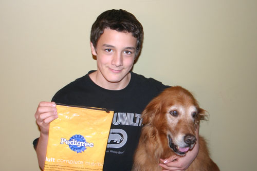 #2 son, our own dear beast and the back of the bag