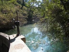 Serene water at Epta Piges