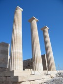 Pillars at the Acropolis