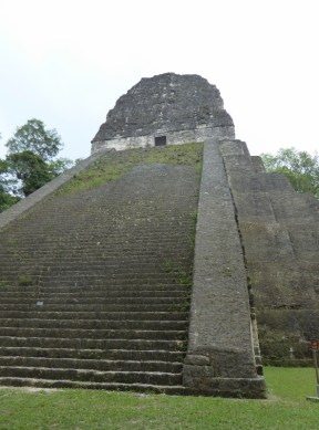 A newly restored pyramid
