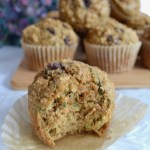 Muffin cross section, showing the inside