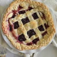 Blackberry Cherry Pie