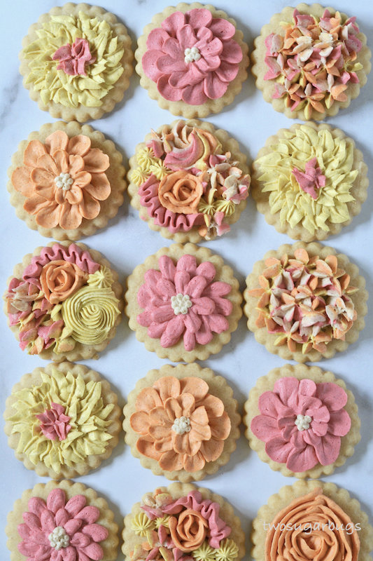decorated cookies