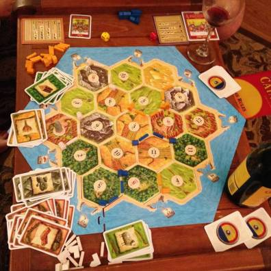 Settlers of Catan is the gateway drug to board games.