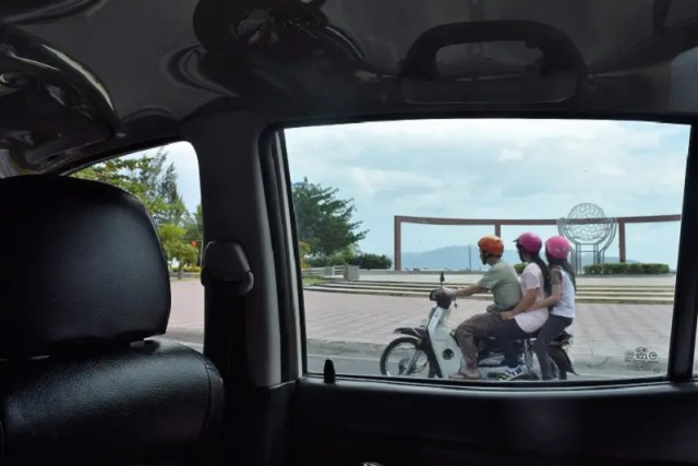 Riding A Motorbike In Nha Trang Vietnam With 3 People Backpacker's Guide to Vietnam