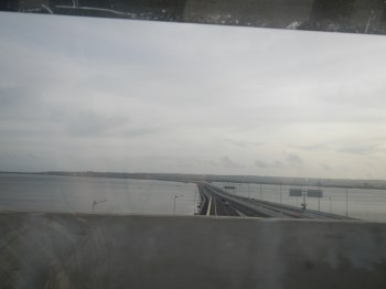 The highway to the Denpasar Airport
