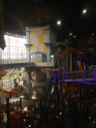 The amusement park in one of the many KL malls