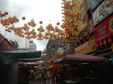 A street in Chinatown, KL