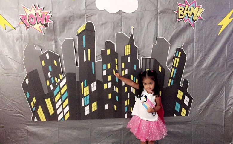 Superhero Picture Backdrop