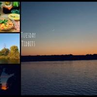 Tuesday Tidbits #145  A Sunset, A Moonrise, A Sunrise… Oh My!
