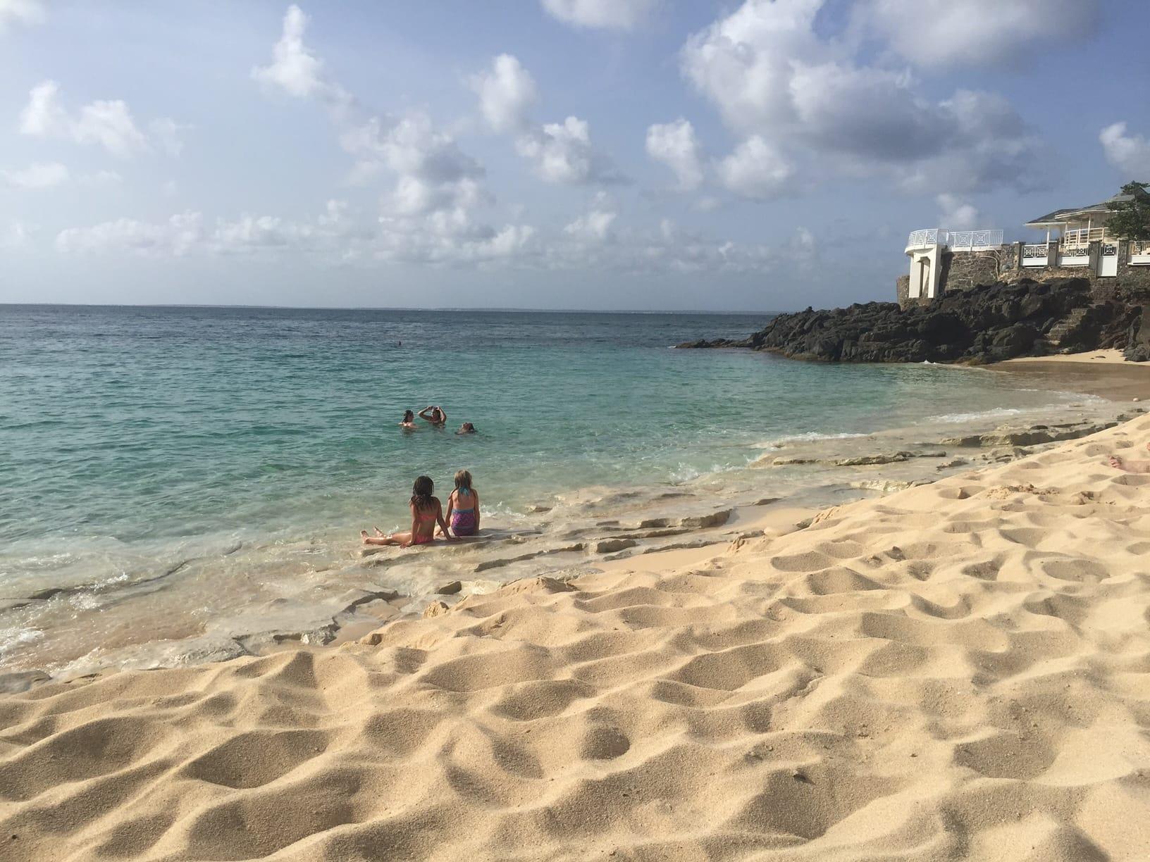 One Way to do St. Maarten - Orient Beach   Solent Richard