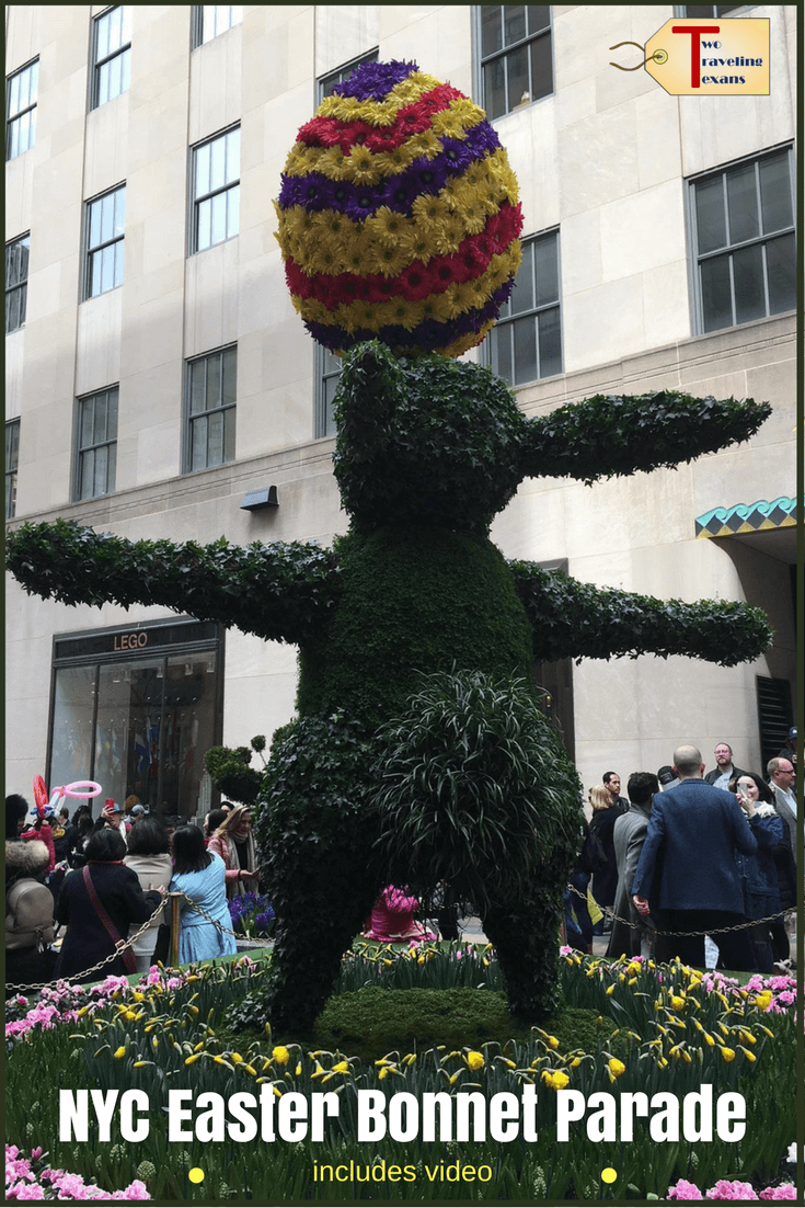 See what the NYC Easter Bonnet Parade is like.  Get the inside scoop about going to the Easter Parade on Fifth Avenue in New York City. It's been an Easter Tradition since the 1870s!